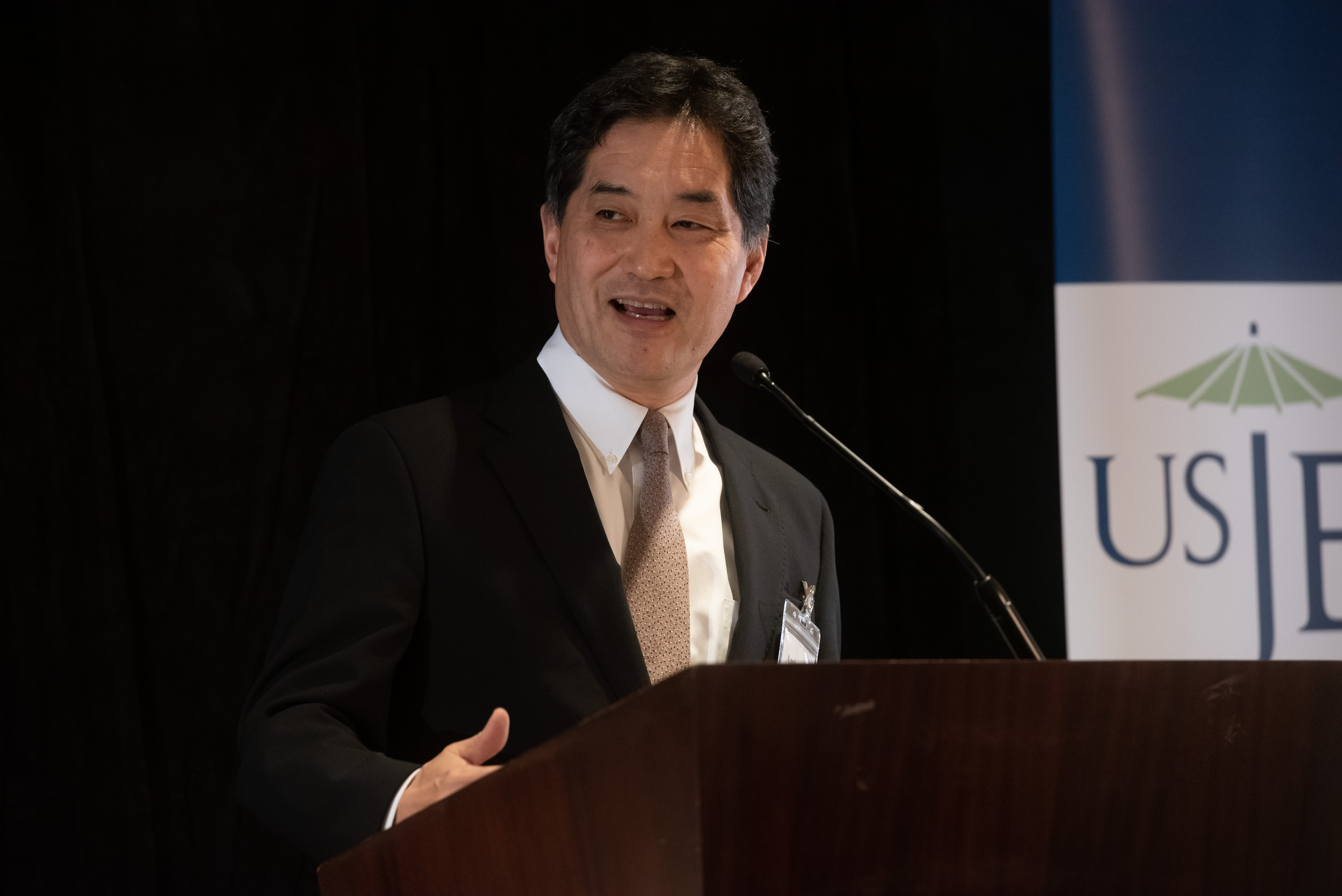 Ambassador Kazutoshi Aikawa, Deputy Chief of Mission of the Embassy of Japan